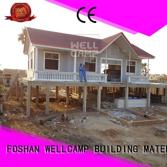 WELLCAMP, WELLCAMP prefab house, WELLCAMP container house Brand smart cv5 modern modular house manufacture