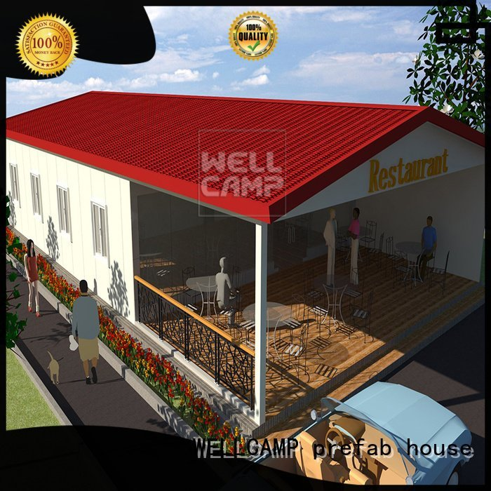 china luxurious prefab villa for sale prefabricated s1 restaurant standard Bulk Buy