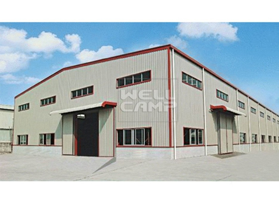 Customized Standard Durable Steel Structure Workshop, Wellcamp S-4