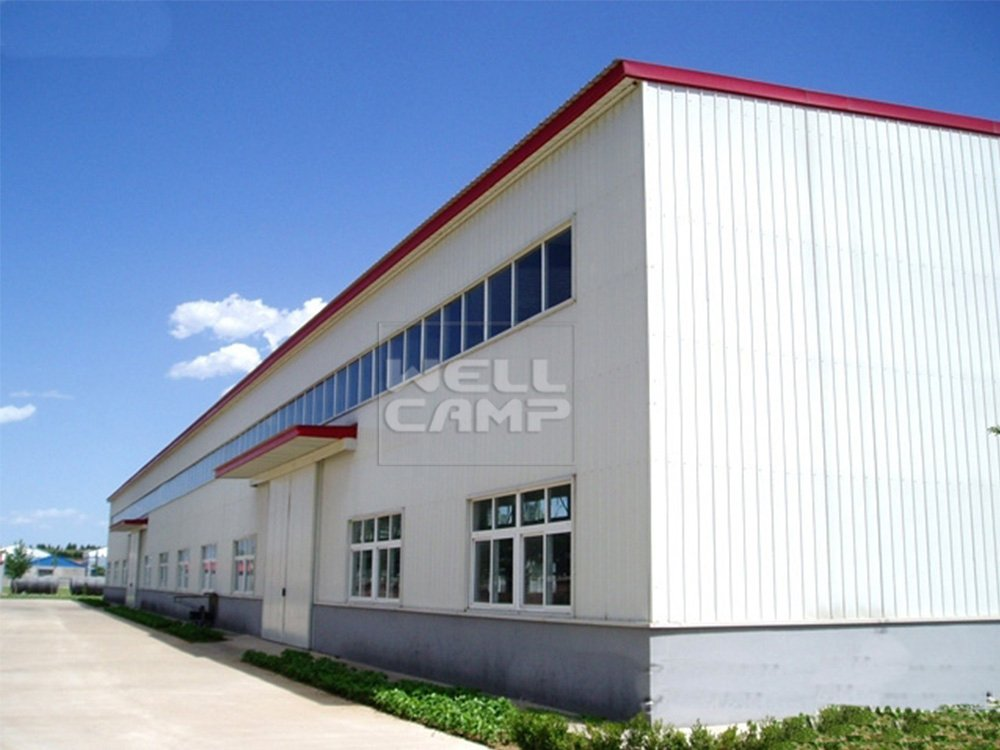 WELLCAMP, WELLCAMP prefab house, WELLCAMP container house Durable Large Span Steel Structure Warehouse, Wellcamp S-5 Steel Structure Workshop image54