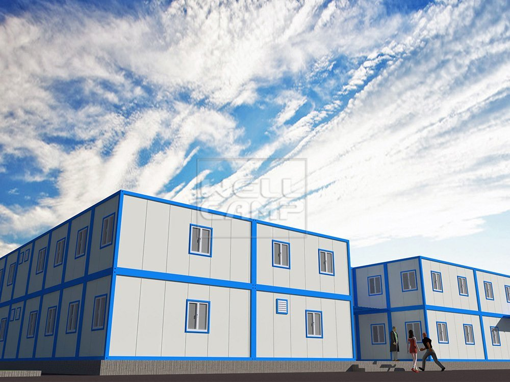 Two Floor Mobile Detachable Container Office House, Wellcamp C-8