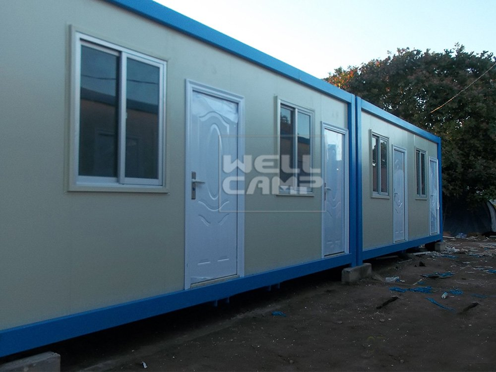 WELLCAMP, WELLCAMP prefab house, WELLCAMP container house New Design Economic Prefabricated Container House For Office, Wellcamp C-9 Detachable Container House image86