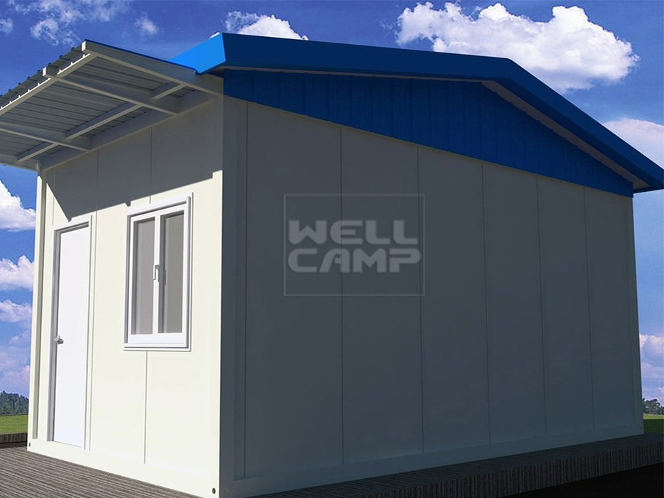 New Style Mobile Sandwich Panel Prefab House For Security Room, Wellcamp T-7