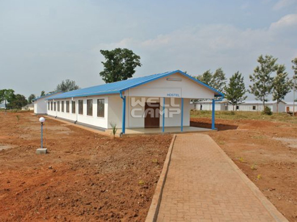 Durable and Low Cost Prefabricated Hotel
