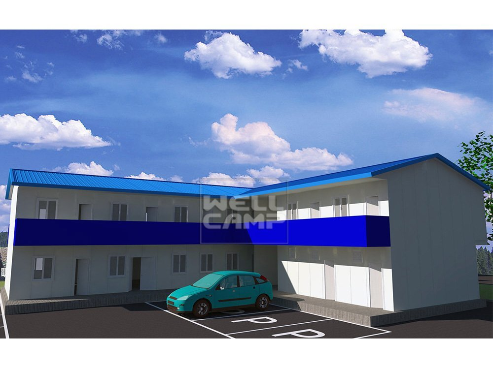 WELLCAMP, WELLCAMP prefab house, WELLCAMP container house Economical Mobile Modular Prefab Building, Wellcamp T-9 T prefabricated House image31