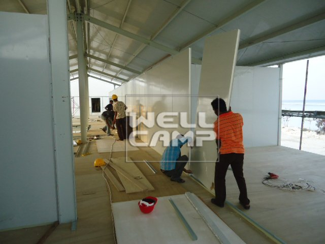 Modern economic prefab homes for accommodation, Wellcamp T-8