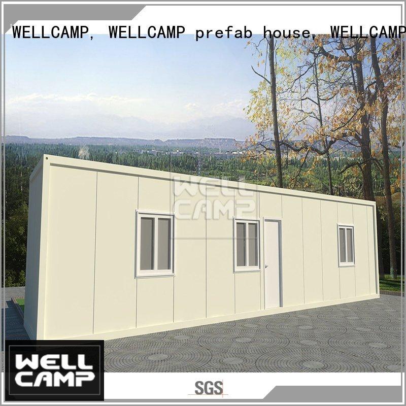 WELLCAMP, WELLCAMP prefab house, WELLCAMP container house modern container house ieps low living