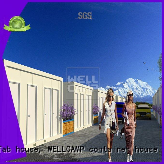 WELLCAMP, WELLCAMP prefab house, WELLCAMP container house c18 fast low modern container house wellcamp