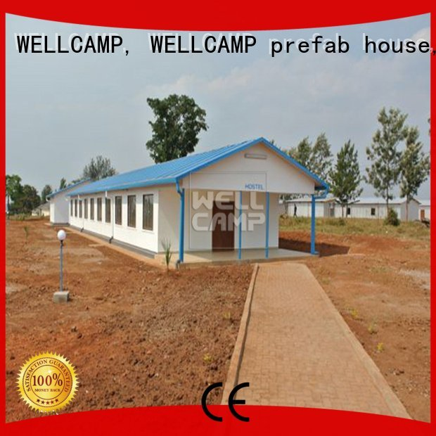 Prefabricated Concrete Villa v23 modular house project WELLCAMP, WELLCAMP prefab house, WELLCAMP container house