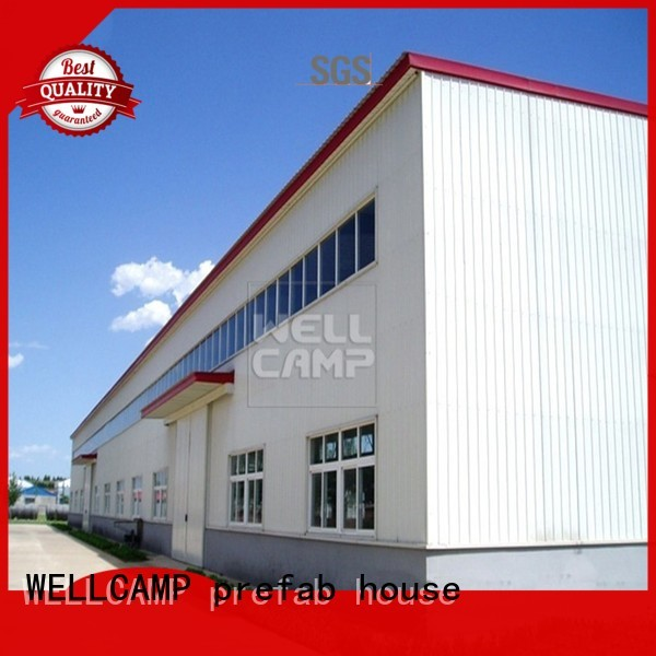 s21 strong s4 WELLCAMP, WELLCAMP prefab house, WELLCAMP container house Brand steel warehouse supplier
