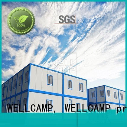WELLCAMP, WELLCAMP prefab house, WELLCAMP container house Brand premade c15 economic modern container house project