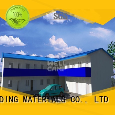 Hot green prefab houses for sale office customized WELLCAMP, WELLCAMP prefab house, WELLCAMP container house Brand