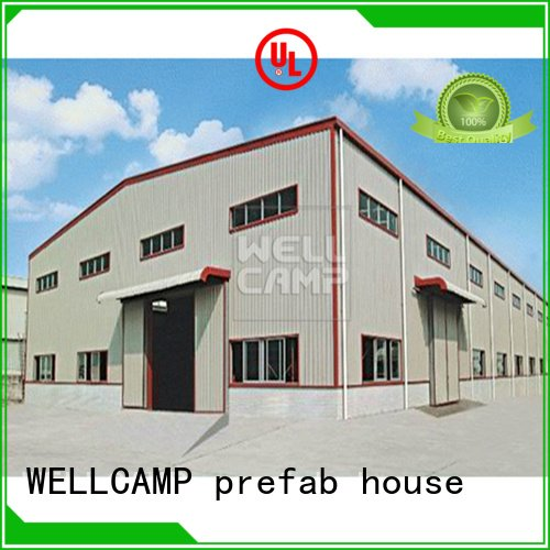 prefab warehouse warehouse s8 steel warehouse WELLCAMP, WELLCAMP prefab house, WELLCAMP container house Brand