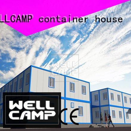 office c8 WELLCAMP, WELLCAMP prefab house, WELLCAMP container house modern container house
