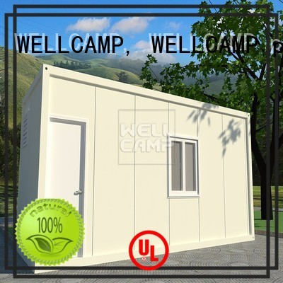 c10 installed WELLCAMP, WELLCAMP prefab house, WELLCAMP container house Brand detachable container house