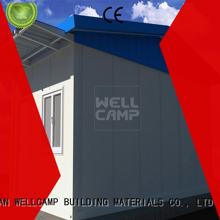 security room manufacturer panel security prefab Warranty WELLCAMP, WELLCAMP prefab house, WELLCAMP container house