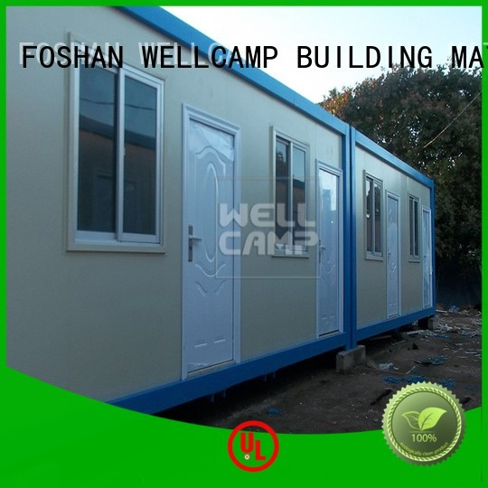 WELLCAMP, WELLCAMP prefab house, WELLCAMP container house Brand c7 low c18 custom modern container house