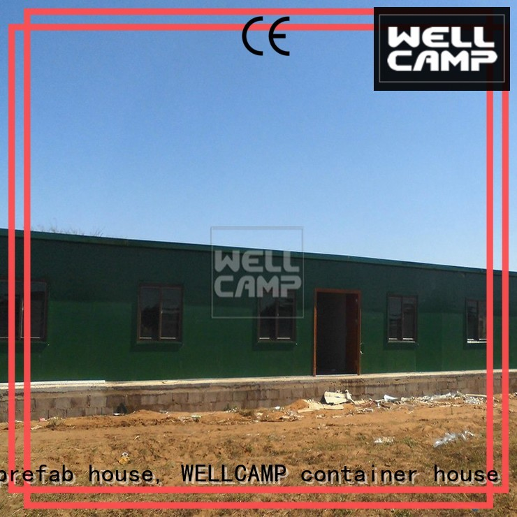 WELLCAMP, WELLCAMP prefab house, WELLCAMP container house Brand green modular prefabricated house suppliers t8 supplier