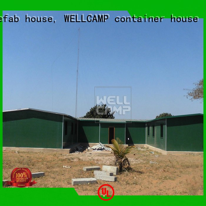 WELLCAMP, WELLCAMP prefab house, WELLCAMP container house Brand camp t4 modular prefabricated house suppliers prefabricated clas