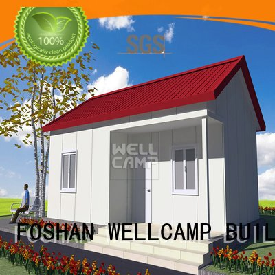 china luxurious prefab villa for sale modular restaurant OEM Prefabricated Simple Villa WELLCAMP, WELLCAMP prefab house, WELLCAM