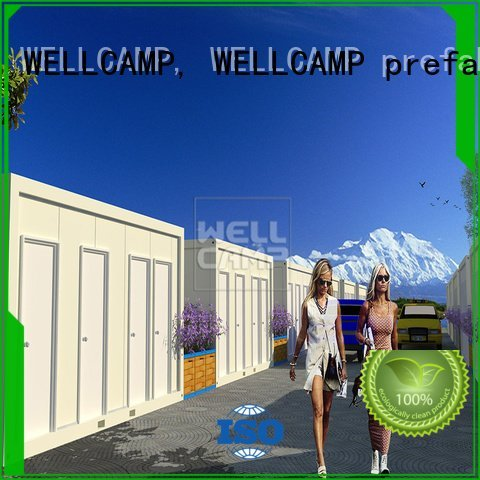 Wholesale installed floor detachable container house WELLCAMP, WELLCAMP prefab house, WELLCAMP container house Brand