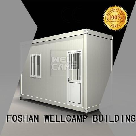 WELLCAMP, WELLCAMP prefab house, WELLCAMP container house Brand c6 detachable container house ieps factory