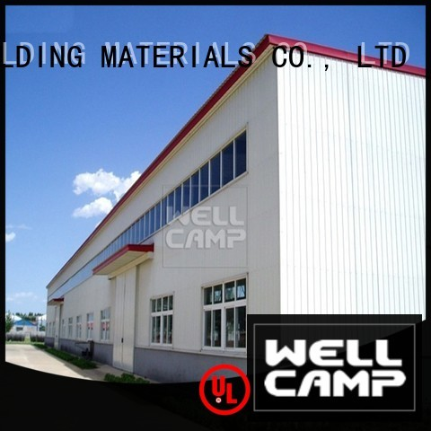 shed steel warehouse large s2 WELLCAMP, WELLCAMP prefab house, WELLCAMP container house company