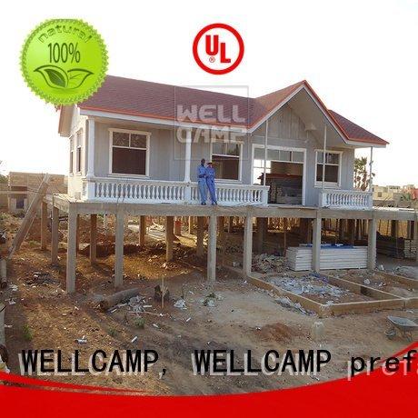 prefab modular house vocation hotel WELLCAMP, WELLCAMP prefab house, WELLCAMP container house