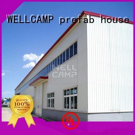 prefab warehouse project chicken steel warehouse