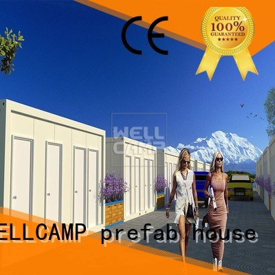 WELLCAMP, WELLCAMP prefab house, WELLCAMP container house Brand c13 project c10 modern container house fast
