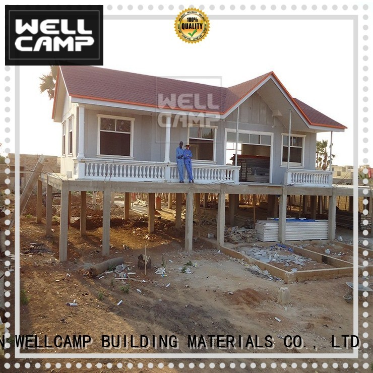 WELLCAMP, WELLCAMP prefab house, WELLCAMP container house Brand cv2 wellcamp style modular house manufacture