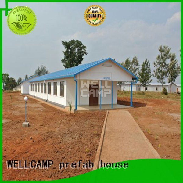WELLCAMP, WELLCAMP prefab house, WELLCAMP container house Brand villa homes Prefabricated Concrete Villa concrete luxury