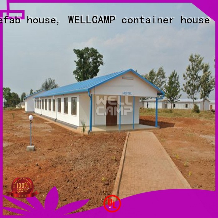 WELLCAMP, WELLCAMP prefab house, WELLCAMP container house Brand cv1 Prefabricated Concrete Villa strong supplier