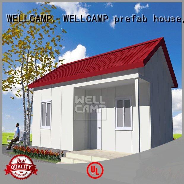 WELLCAMP, WELLCAMP prefab house, WELLCAMP container house luxury s1 restaurant china luxurious prefab villa for sale villa