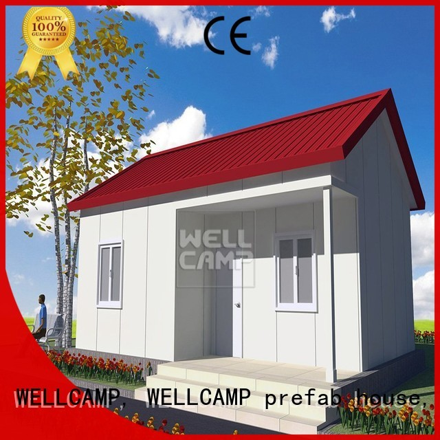 china luxurious prefab villa for sale panel apartment install WELLCAMP, WELLCAMP prefab house, WELLCAMP container house Brand