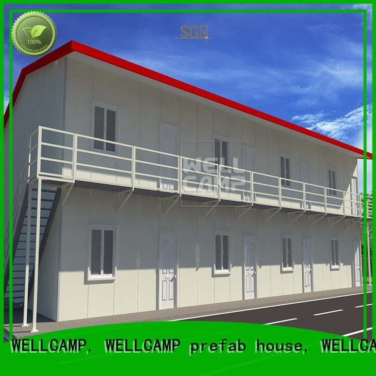 WELLCAMP, WELLCAMP prefab house, WELLCAMP container house Brand t8 modern modular prefabricated house suppliers