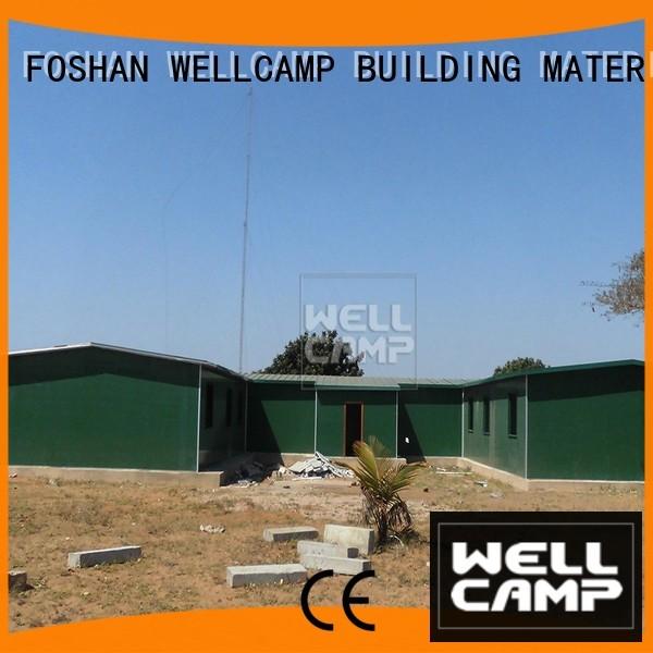sandwich modular security prefab houses for sale WELLCAMP, WELLCAMP prefab house, WELLCAMP container house