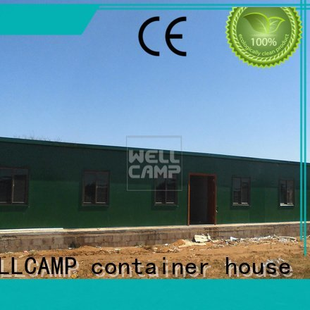 Wholesale three prefab houses for sale WELLCAMP, WELLCAMP prefab house, WELLCAMP container house Brand