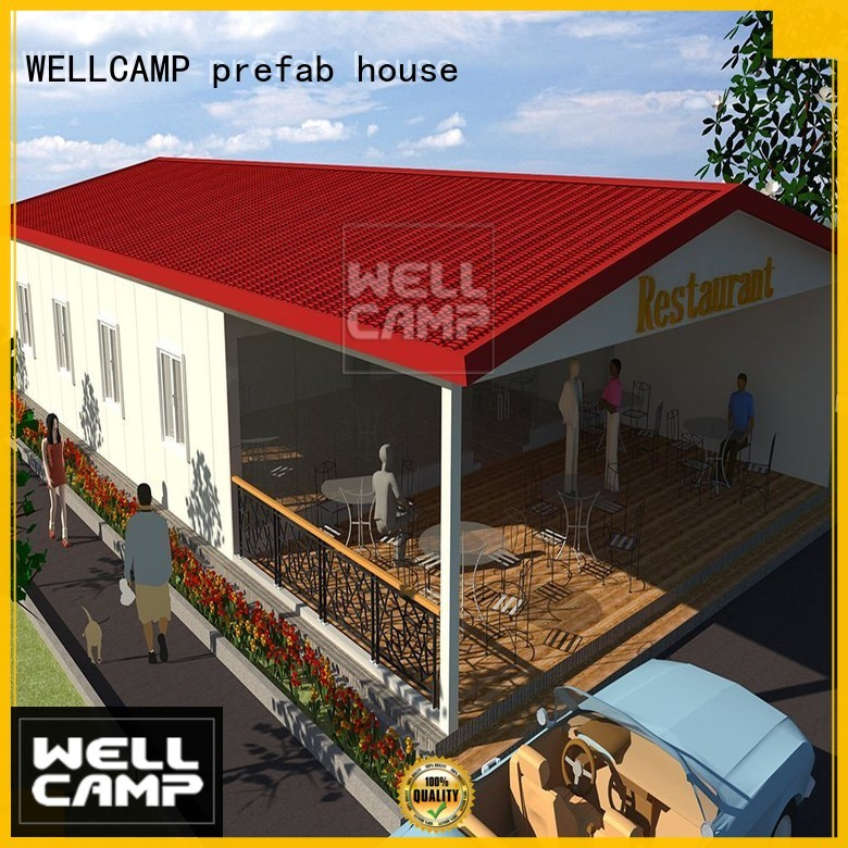Hot panel Prefabricated Simple Villa sandwich smart WELLCAMP, WELLCAMP prefab house, WELLCAMP container house Brand