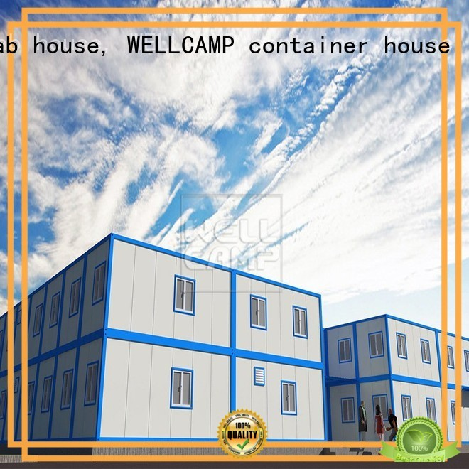 Hot modern container house c13 WELLCAMP, WELLCAMP prefab house, WELLCAMP container house Brand
