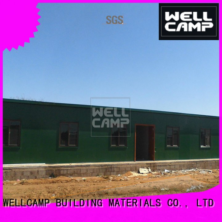 WELLCAMP, WELLCAMP prefab house, WELLCAMP container house modular prefabricated house suppliers t1 camp economic
