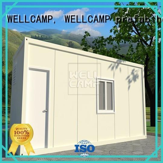 Quality WELLCAMP, WELLCAMP prefab house, WELLCAMP container house Brand modern container house floor sandwich