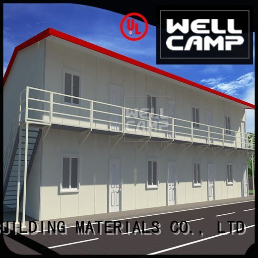 modular prefabricated house suppliers dormitory office prefab houses for sale WELLCAMP, WELLCAMP prefab house, WELLCAMP containe