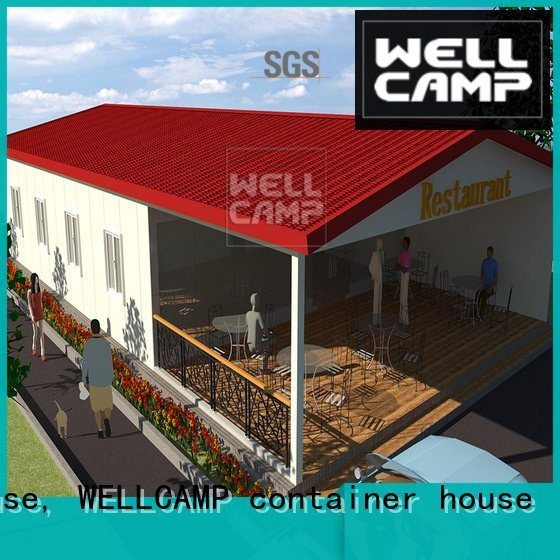 china luxurious prefab villa for sale modular Prefabricated Simple Villa WELLCAMP, WELLCAMP prefab house, WELLCAMP container hou