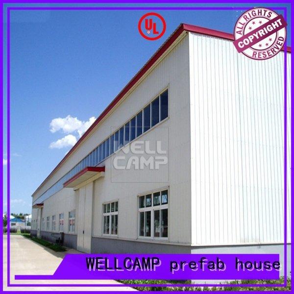 s21 s2 prefab warehouse WELLCAMP, WELLCAMP prefab house, WELLCAMP container house