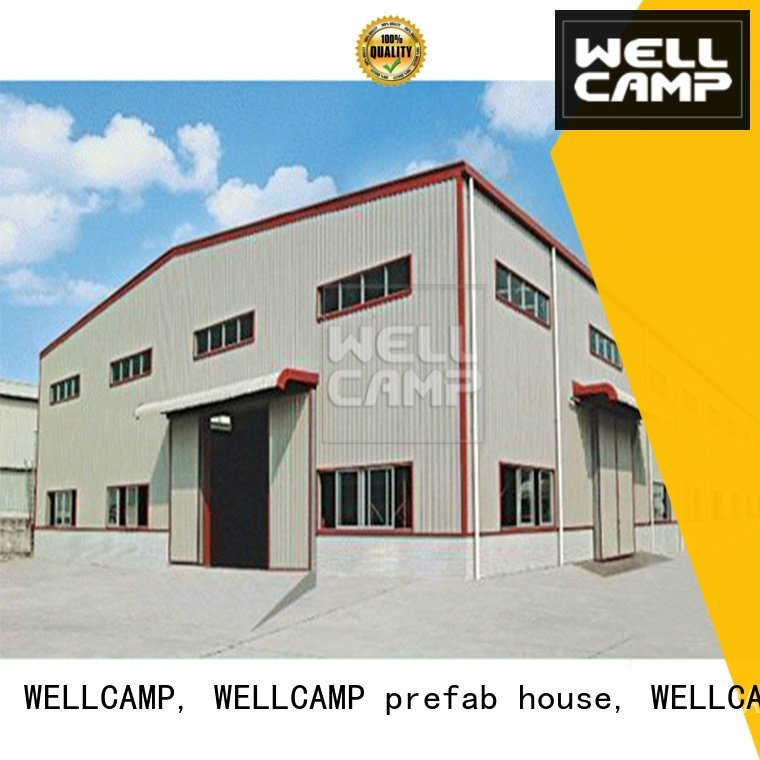 span dakar WELLCAMP, WELLCAMP prefab house, WELLCAMP container house steel warehouse