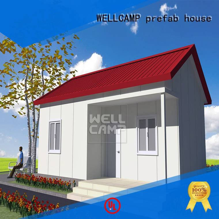 wellcamp prefabricated prefab Prefabricated Simple Villa