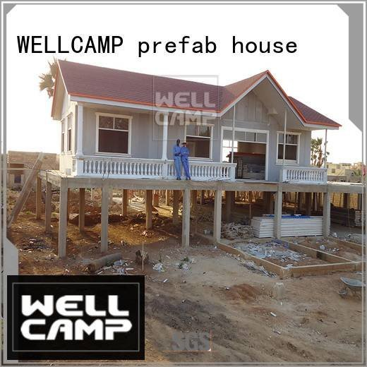 Prefabricated Concrete Villa prefab strong OEM modular house