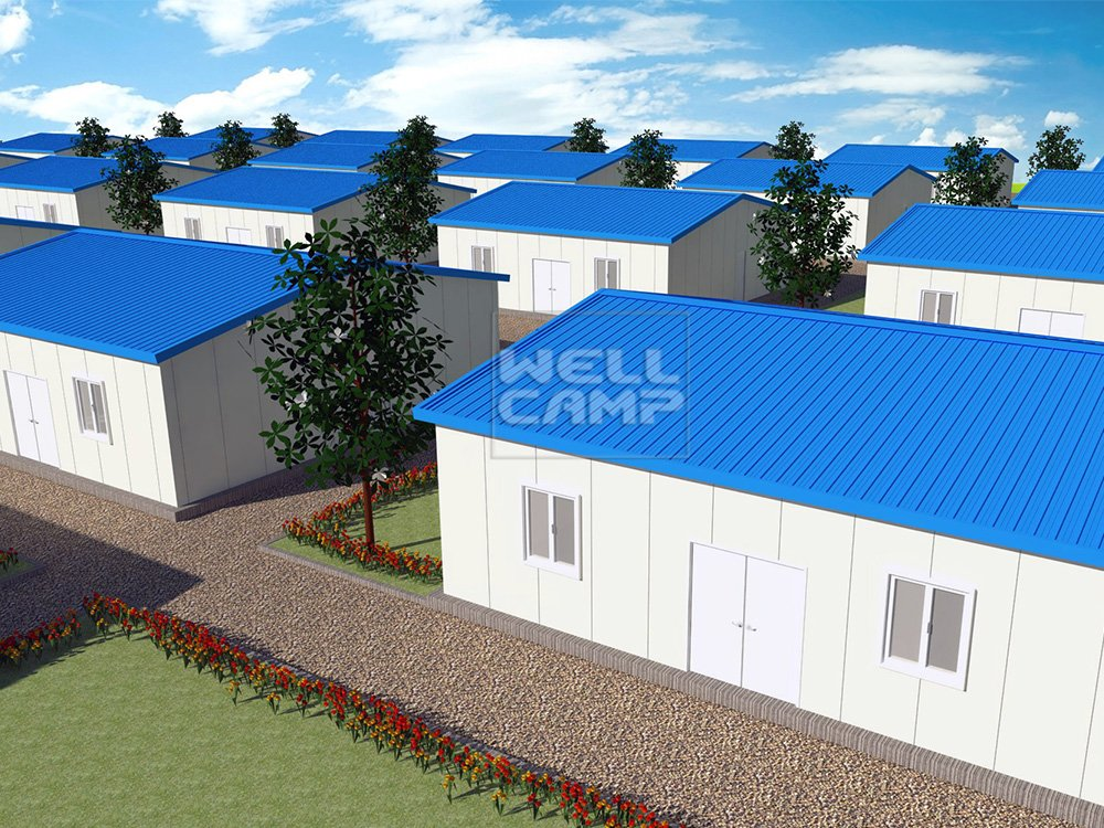 Simple Sandwich Panel Prefabricated House, Wellcamp T-15
