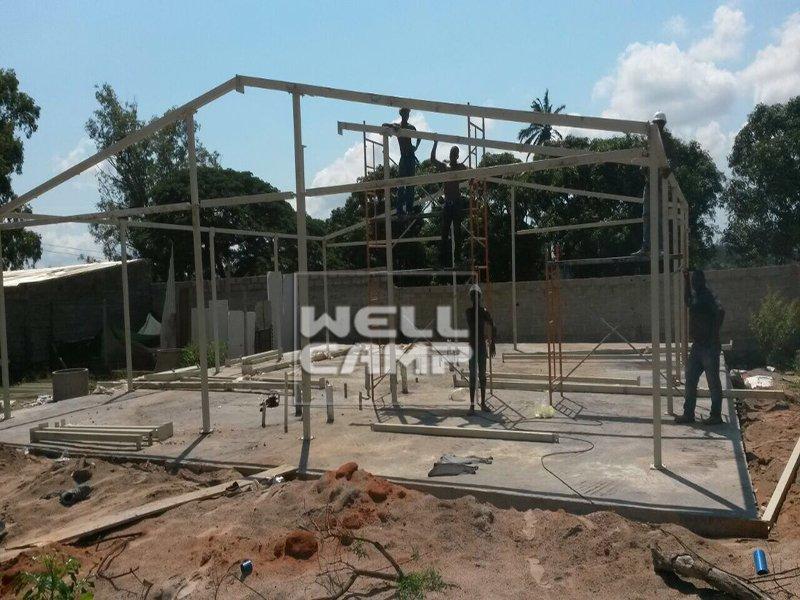 Simple Sandwich Panel Prefabricated House, Wellcamp T-15